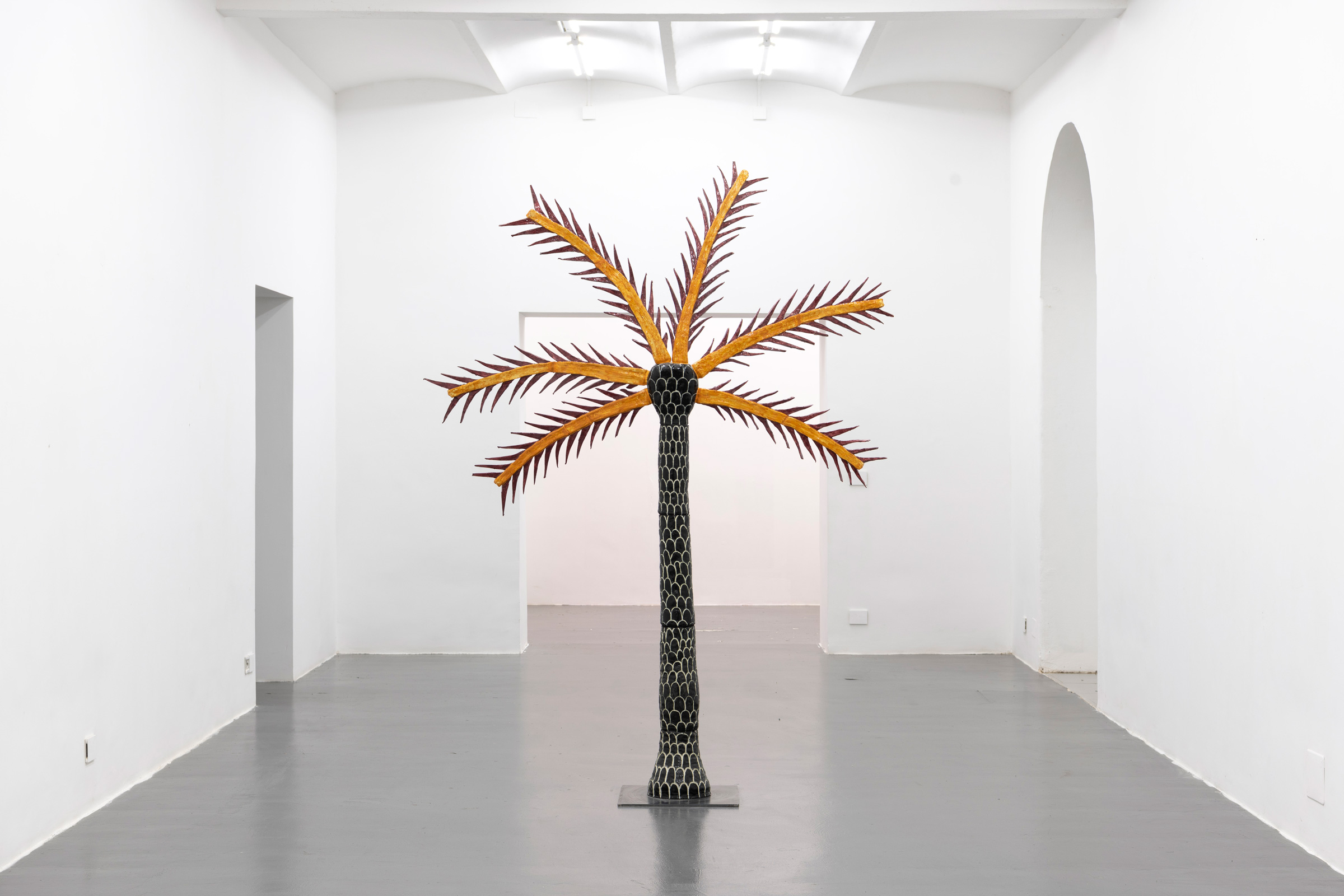 Giovanni Vetere Hanging Palm and Bleached Coral